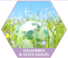 Eoliennes & sites isolés